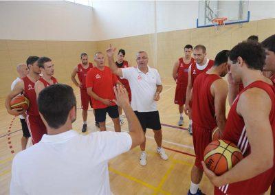 Hrvatska košarkaška reprezantacija na pripremama u Dubrovniku